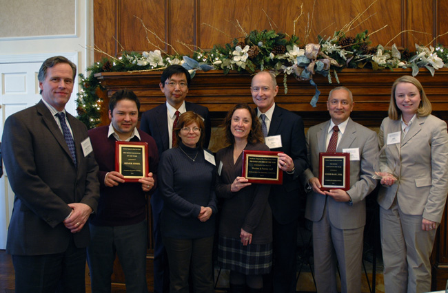 Presentation of Northern Virginia Pro Bono Law Center's Pro Bono Lawyer of the Year Award, 2013.